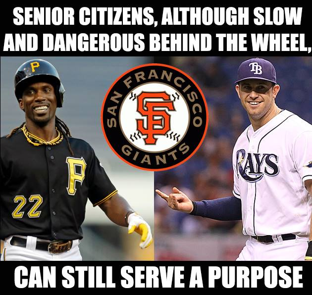 Meme-O-Random: San Francisco Giants New (Old) Acquisitions