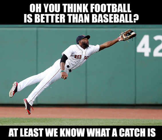 Meme-O-Random: What Is A Catch? » Foul Territory Baseball