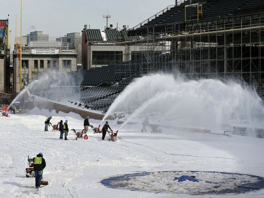 Chicago Cubs Home Opener Postponed by Snow » Foul Territory Baseball